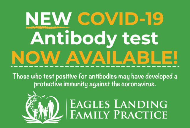 COVID-19 Antibody Tests Now Available!