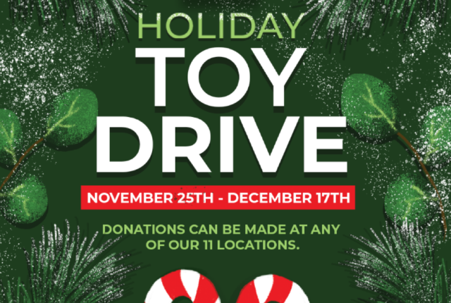 5th Annual Holiday Toy Drive